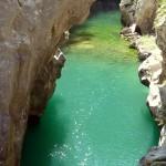 la Grotta si trova all'interno della Riserva Naturale del Cellina, dove ci sono forre paradisiache