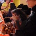 giuliana e frittelle della pasticceria venezia