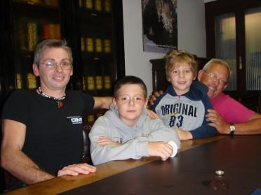 Fernando, i suoi figli, e il nostro Romano